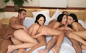 not very well? big boobed babe loves messy threesome think, that