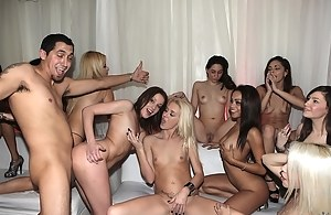 Girls Reverse Gangbang Pictures