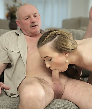 Hot blonde with black dick